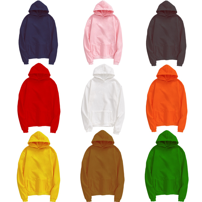 QNPQYX Fashion Brand Men's Hoodies Spring Autumn Male Casual Hoodies Sweatshirts Unisex Solid Color Student Hoodies Wholesale