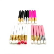 Eyelash Extension Lash Shampoo Cleansing Brush Colorful Makeup Brushes Wooden Brush Cleaning Brush Individual Eyelashes Tools