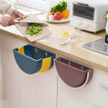 Creative Folding Wall Mounted Trash Bin Recycle Bin Kitchen Cabinet Door Hanging Trash Can Holder Home Garbage Bin papelera kosz na smieci garbage de bag holder reciclaje commercial hotel lixeira cubo basura recycle bin dustbin trash can