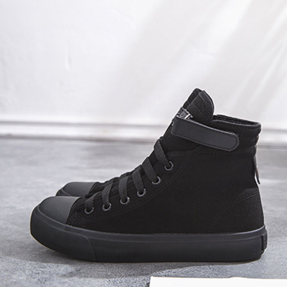 2019 New Canvas Shoes Women Boots Palladium Style Fashion High-top Military Ankle Casual Shoes Female High Quality Boots 2