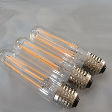 1 Uds T30-128 E27 6W 2200K bombilla Led Edison Vintage filamento de la bombilla 220V Tubular Lámpara antigua