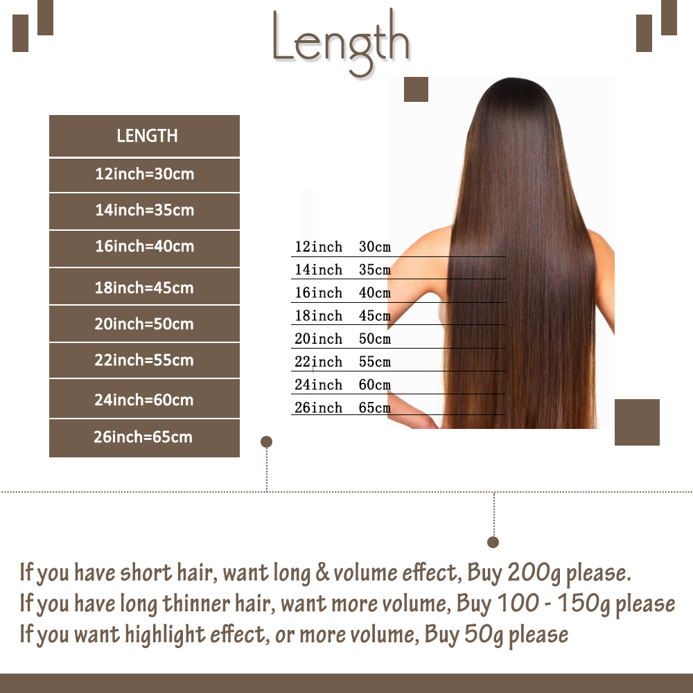 Moresoo Clip In Hair Extensions 10-24 inch Machine Remy Human Hair Brazilian Doule Weft Full Head Set Straight 7Pcs 120G