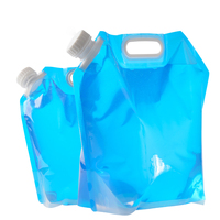 5l/10l 야외 물 가방 휴대용 대용량 휴대용 물 가방 야외 등산 접는 물 가방 캠핑|피처|홈 & 가든 -