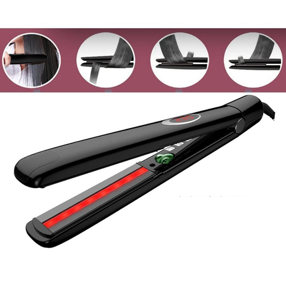 Infrared Hair Straightener Negative Ion Ceramic Electric Splint Straight Hair Curling Hair Tools