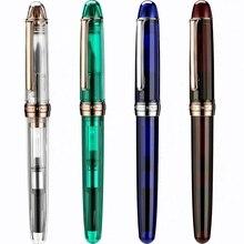 Ручка перьевая в японском стиле, каучуковая ручка с чернилами NATAMI, преобразователь с тонкими наконечниками, канцелярские принадлежности, Офисная искусственная