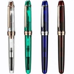 Business Fountain Pen Japanese Style NATAMI Resin Ink Pen Fine Nib Converter Filler Stationery Office school supplies Writing