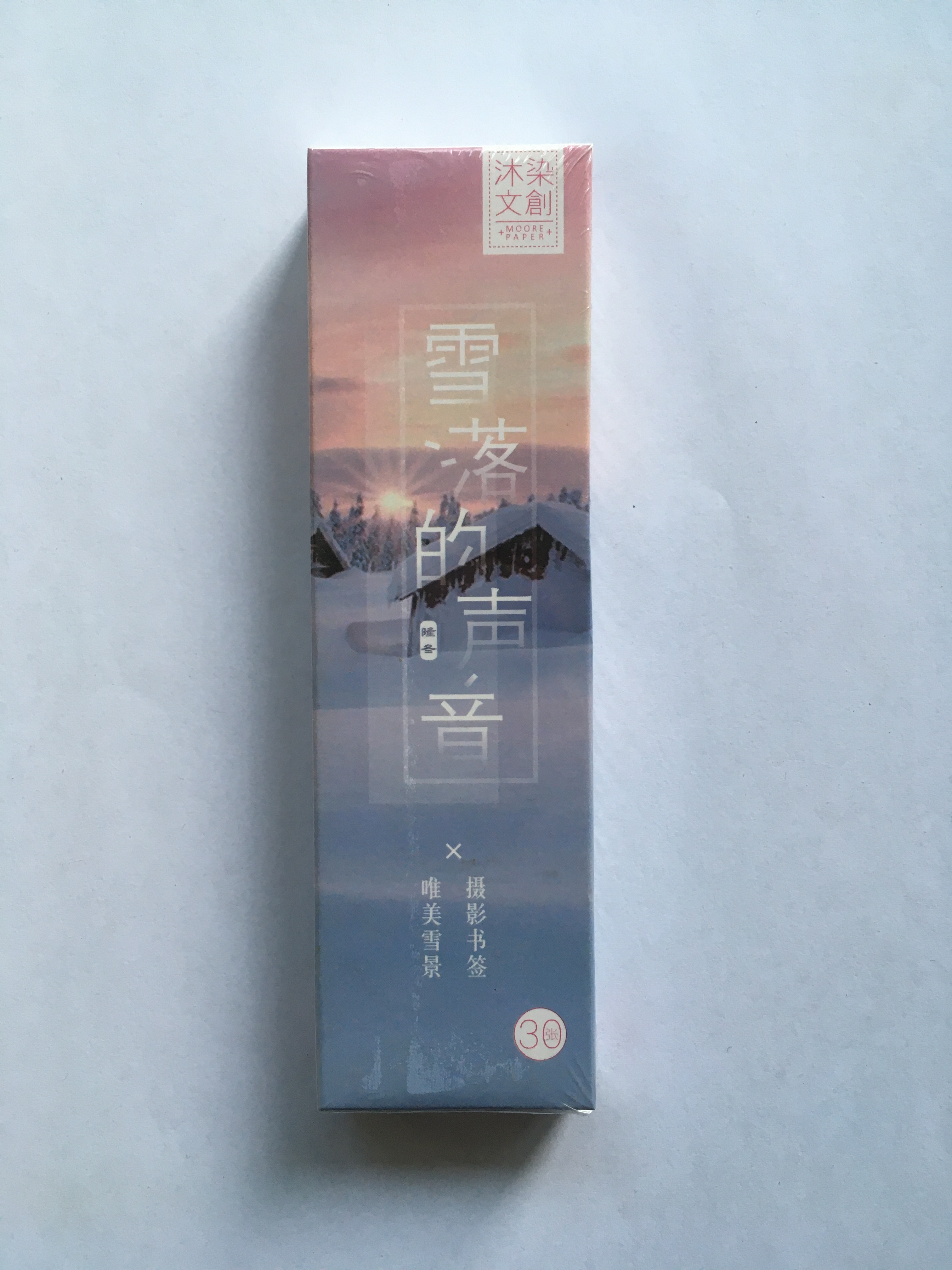 Snow Sound Paper Bookmark(1pack=30pieces)