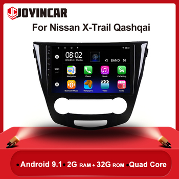 10.1 2 din Android 9.1 For Nissan X-Trail xtrail X Trail Qashqai 2014 - 2017 Car Radio Stereo GPS Navigation Multimedia Player image