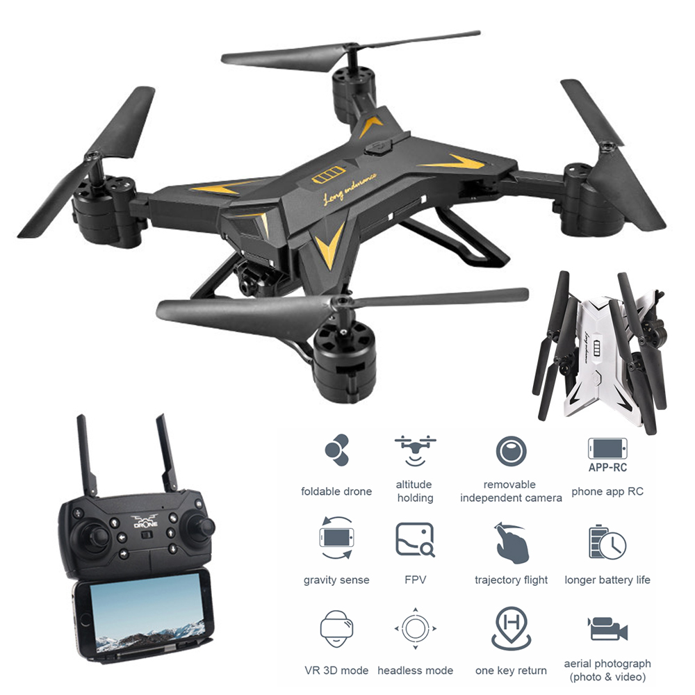 New RC Helicopter 4K  With Camera HD 1080P WIFI FPV RC  Professional Foldable Quadcopter 20 Minutes Long Battery Life