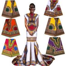 100% algodão áfrica ancara imprime tecido de cera java pagne real material de costura para christams festa vestido artesanato acessório loção