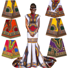 100% cotone Africa Stampe Cera Ankara Tessuto JAVA Reale Pagne Materiale Da Cucire per Christams Vestito Da Partito Accessorio Mestiere di Perizoma