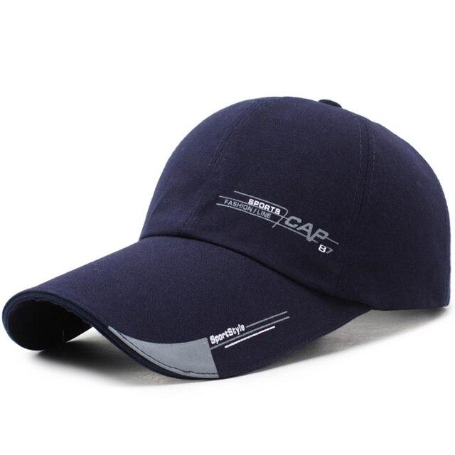 Sports Cap Mens Hat For Fish Outdoor Fashion Line Baseball Cap Long Visor