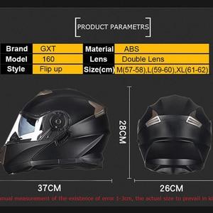 Image 5 - NEW GXT 160 Flip Up Motorcycle Helmet Double Lense Full Face Helmet Casco Racing Capacete