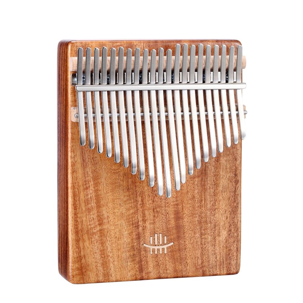 21 17 Keys Kalimba African Solid Wood Thumb Finger Piano Sanza Mbira Calimba With Cloth Bag Musical Instruments Accessaries