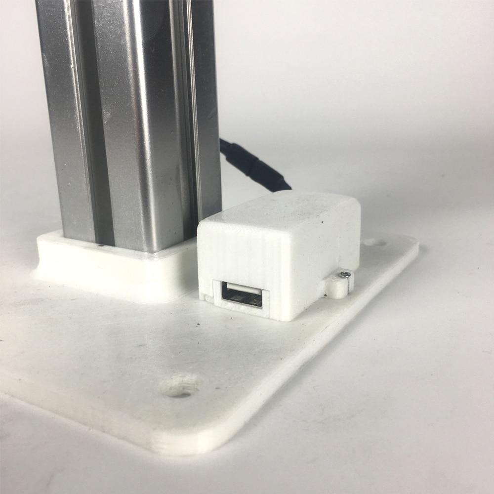 3d que imprime 50w micro gerador horizontal 04