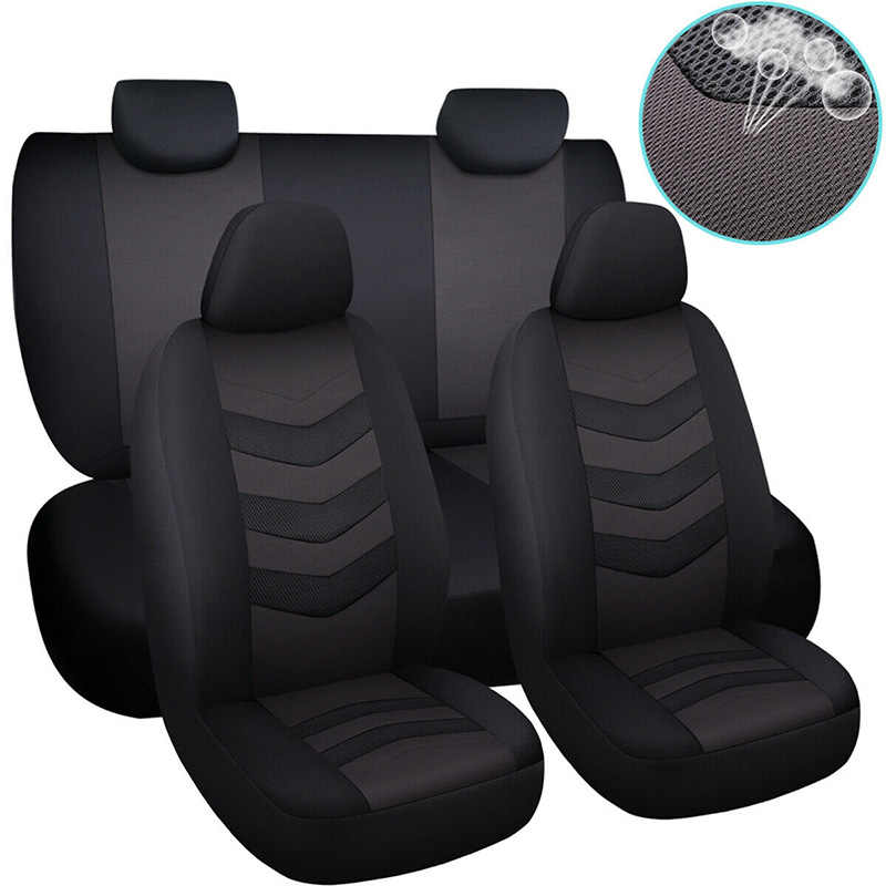 Auto Seat Cover Set Universele Auto Covers Voor Ford Fiesta Mk4 Mk6 Mk7 2014 Focus 1 2 3 Mk1 mk2 Mk3 2005 2006 2007 2009 2017
