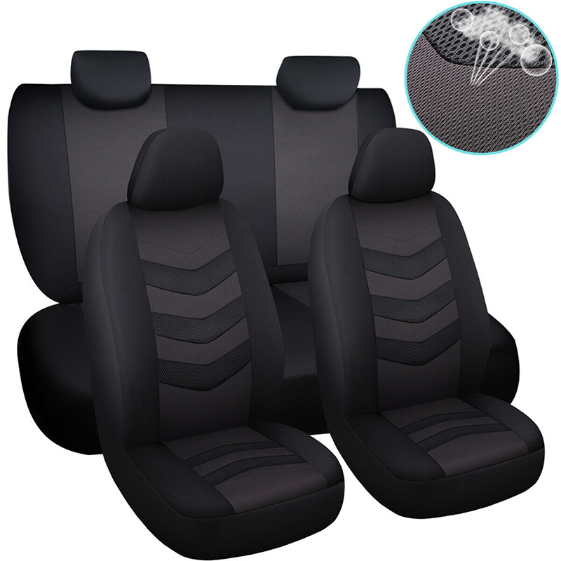 Car Seat Cover Set Universal Auto Car Covers for Ford Fiesta Mk4 Mk6 Mk7 2014 Focus 1 2 3 Mk1 Mk2 Mk3 2005 2006 2007 2009 2017