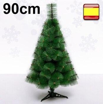 Arbol de navidad pino verde clásico, 90 cm, excelente calidad