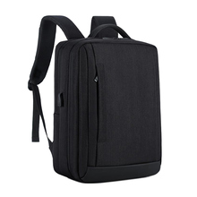 Mens Multi-function Travel Bag Waterproof Nylon 15.6-inch Laptop Backpack Casual Business