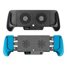 DishyKooker Switch Lite Host Battery Pack Charger Hand Charging Grips Stand Shell Cooling Fan for Nintendo Switch Lite Console
