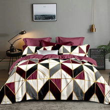 LOVINSUNSHINE Duvet Cover Queen Geometry Comforter Bedding Set Double Bed Quilts WW88#