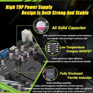 Image 4 - MAXSUN motherboard am4 A320M VH Challenger + AMD ryzen 5 2600 prozessor ram ddr4 speicher SATAIII ssd PCI E grafikkarte mainboard