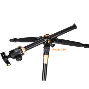 Image 5 - QZSD Q999H Aluminium Alloy Camera Tripod  Video Monopod Professional Extendable Tripod with Quick Release Plate and Ball Head