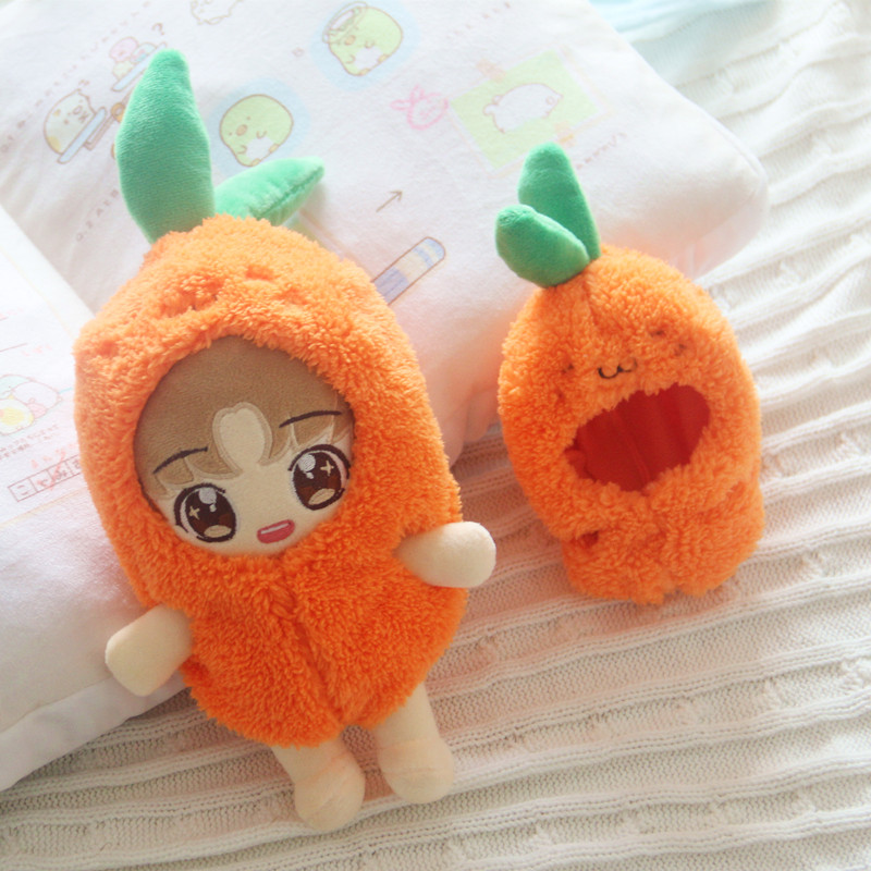 Radish Baby Clothes Radish Clothes 15cm20cm EXO Doll Clothes Radish Clothes Doll Clothes Doll Accessories