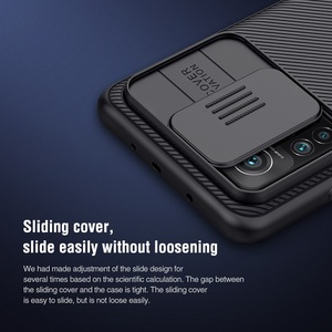 Image 4 - Nillkin capa redmi k30s para celular xiaomi, proteção traseira da câmera, com protetor de privacidade, 6.67 polegadas
