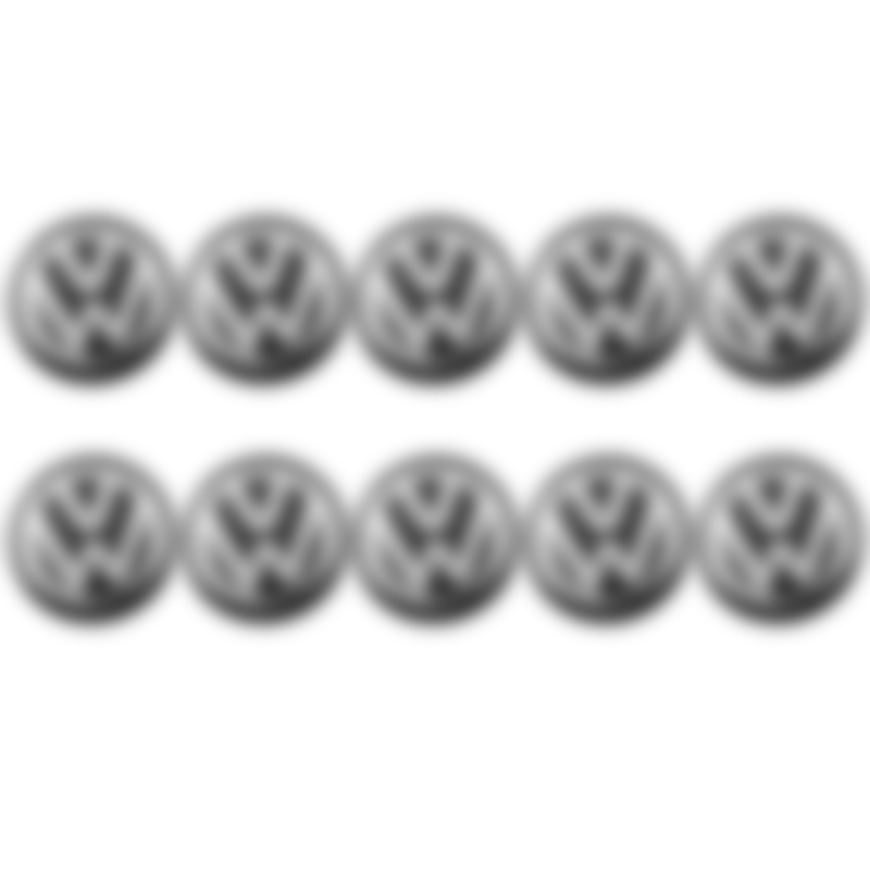 10PCS Remote Control Key Cover Decal  Car Key Sticker For Volkswagen Polo Golf 3 4 5 6 7 B4 B5 B6 B7 B8 Car Accessories