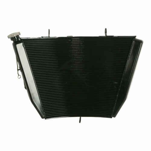Алюминиевый радиатор мотоцикла для Suzuki GSXR600 GSXR750 2006-2007 GSXR 600/750 06 07 Черный