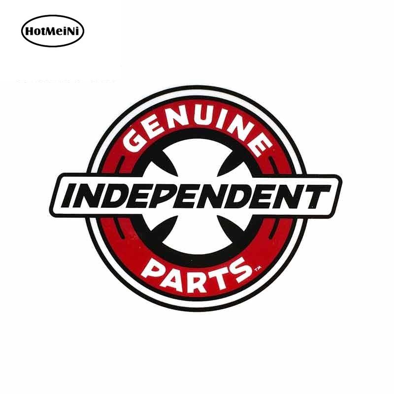 HotMeiNi 13cm X 10.1cm For Independent Truck Genuine Parts DIY Motorcycle Stickers Vinyl Car Sticker Fashion SUV Decoration