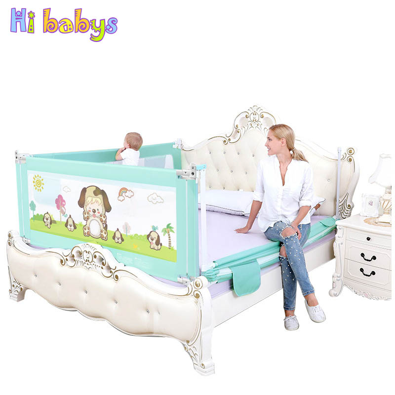 Baby Playpen Vertical Lift Bed Guardrail Baby Barrier For Cribs Infants Safety Bed Rail Children Crib Rail Newborn Bed Fence