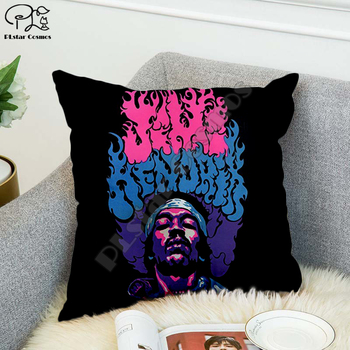 Rock singer Bob Marley/The Hillbilly Cat Hip Hop 3D printed Pillow Case Polyester Decorative Pillowcases Throw Pillow Cover 04 image