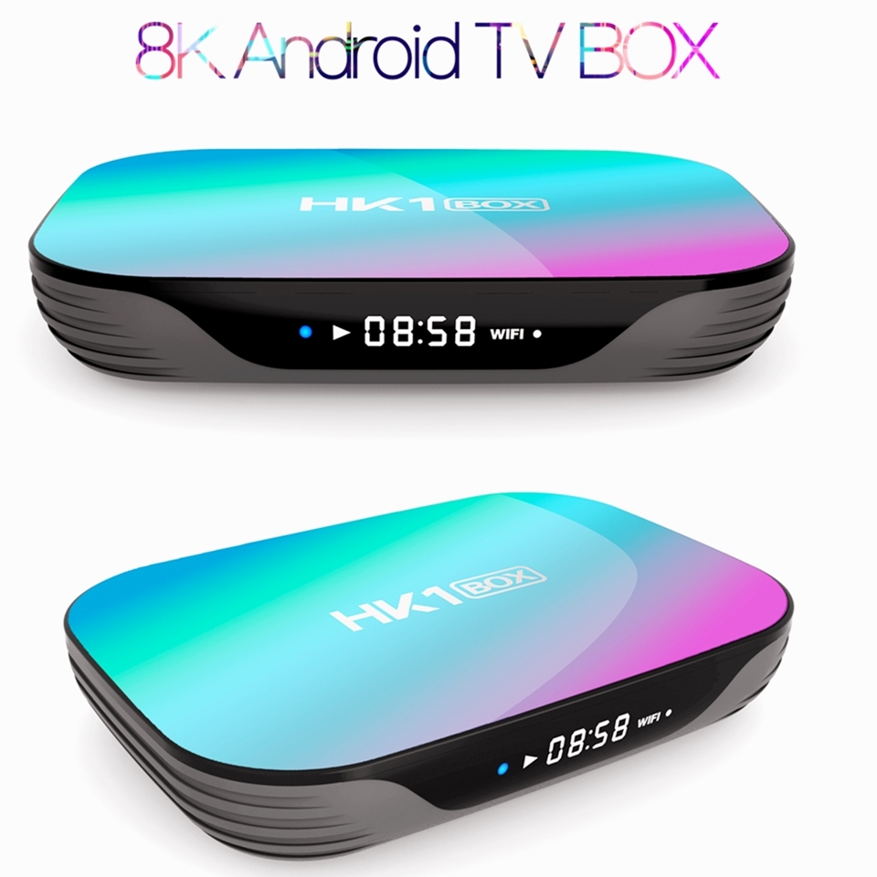8K Ultra HD Android TV BOX Android 9.0 Smart TV BOX 5G WIFI  8K HDMI 2.1 USB 3.0 Amlogic Quad Core Ott TV BOX Set-top Box