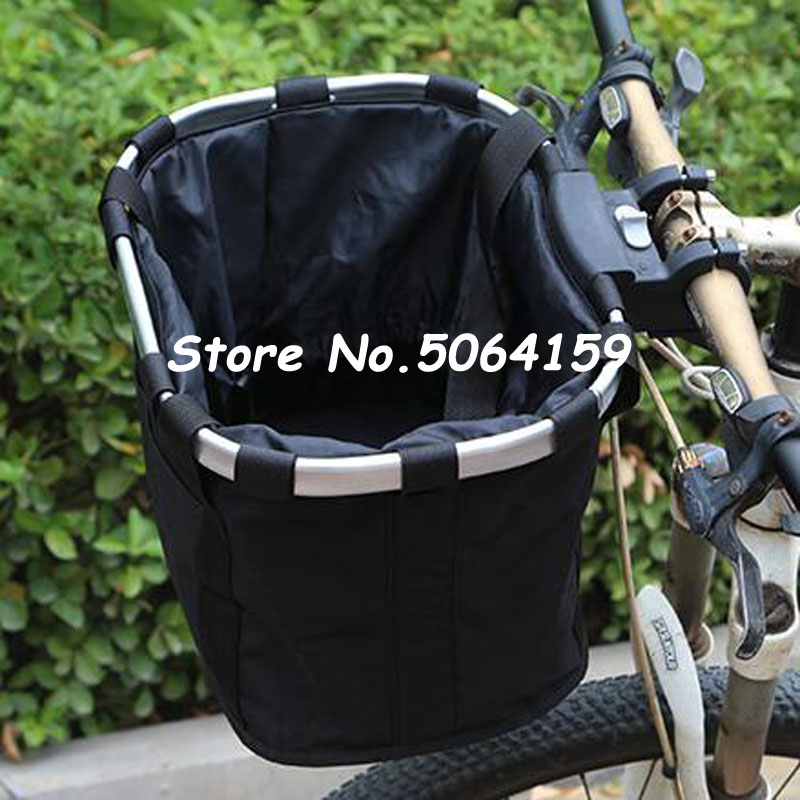 Bicycle Basket Handlebar Pannier Cycling Carryings Holder Bike Riding Pouch Cycle Biking Front Baggage Bag 3.0KG Load