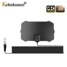 Amplifier-Booster Tv-Antenna Digital Receiver HDTV Signal 200-Mile Indoor 1080p 4K Range