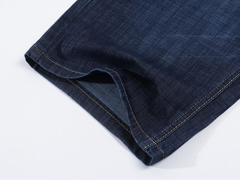 KSTUN Jeans Men Shorts Dark Blue Ultrathin Stretch Business Casual Straight Regular Fit Male Denim Short Pants Mens Shorts Homme 18