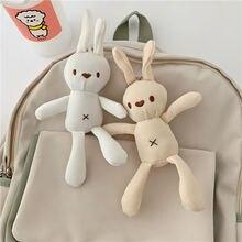 Мультфильм кролик ткань сумочка с брелоком кулон милая девушка