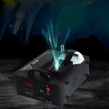 Fast shipping disco 24X9w RGB Led smoke machine DMX512 Vertical fogger ejector dj disco concert stage light Upspray fog machine