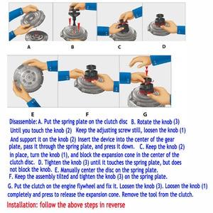 Image 5 - חדש שלוש חליפת מקשה מתכוונן רכב מצמד צלחת חור כלי מצמד מתקן להתקין ולהסיר מצמד רכב תיקון מכשיר