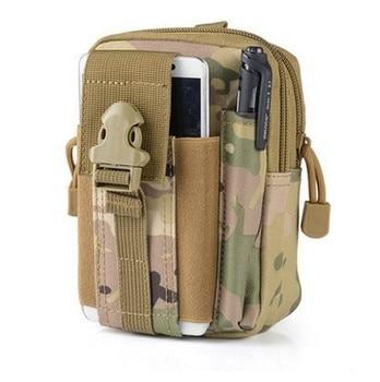 цена fanny pack men fashion purse Top quality Hip outdoor Military Tactical Waist Belt Sport bags for   secret stash онлайн в 2017 году