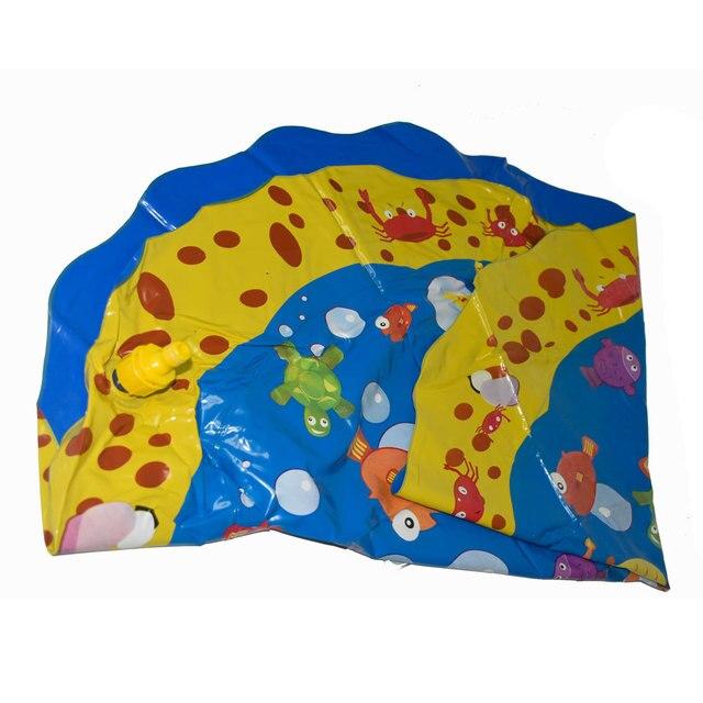 Piscina bebé salpicadura de agua estera de pulverización divertido jugar al agua piscina al aire libre juguete 6