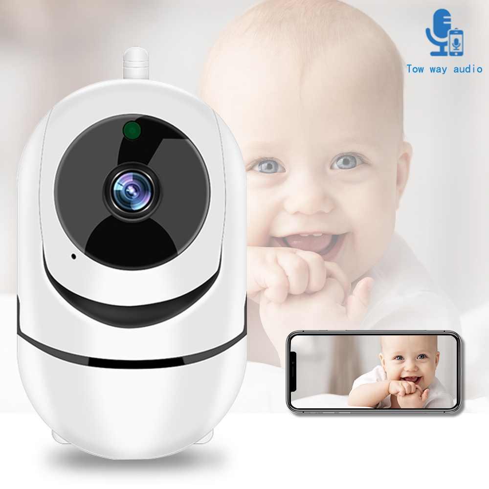 مراقبة الطفل واي فاي صرخة إنذار IP كاميرا واي فاي فيديو مربية كام كاميرا لمراقبة الأطفال للرؤية الليلية اللاسلكية فيديو كاميرا مراقبة بالدوائر التليفزيونية المغلقة 2MP