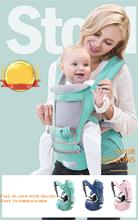 back baby belt Ergonomic designed kangaroo Hipseat Sling Front carriers breathable four seasons universal wrap travel