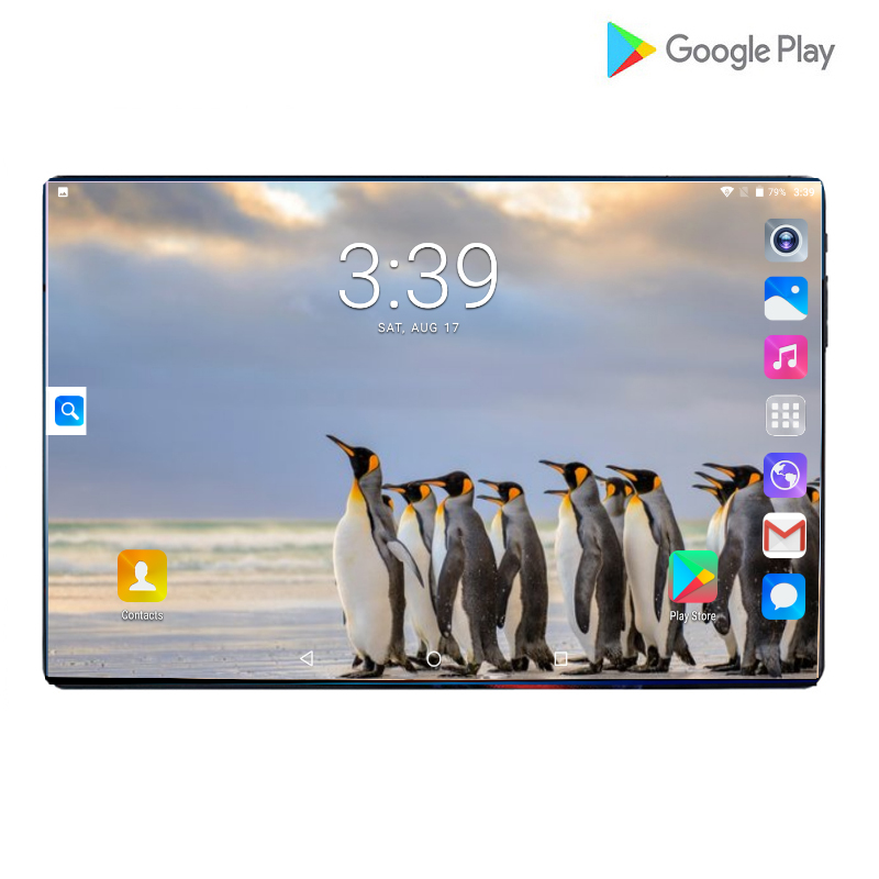 2019 Super Tempered Glass 10 Inch Tablets 4G LTE Android 9.0 Tablet PC 1280*800 6GB RAM 64GB ROM Dual SIM GPS Phone Call Tablets