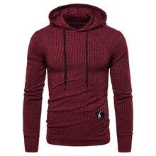 NEGIZBER New Spring Mens Sweatshirts Solid Casual Hoody Men Elasticity Slim Fit Pullover Hoodies Men Streetwear Sporting Hoodies
