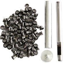 Conjunto de ferramentas ilhós ilhós kit + 100 ilhós para diy kydex bainha huning faca peças, ferramenta ao ar livre