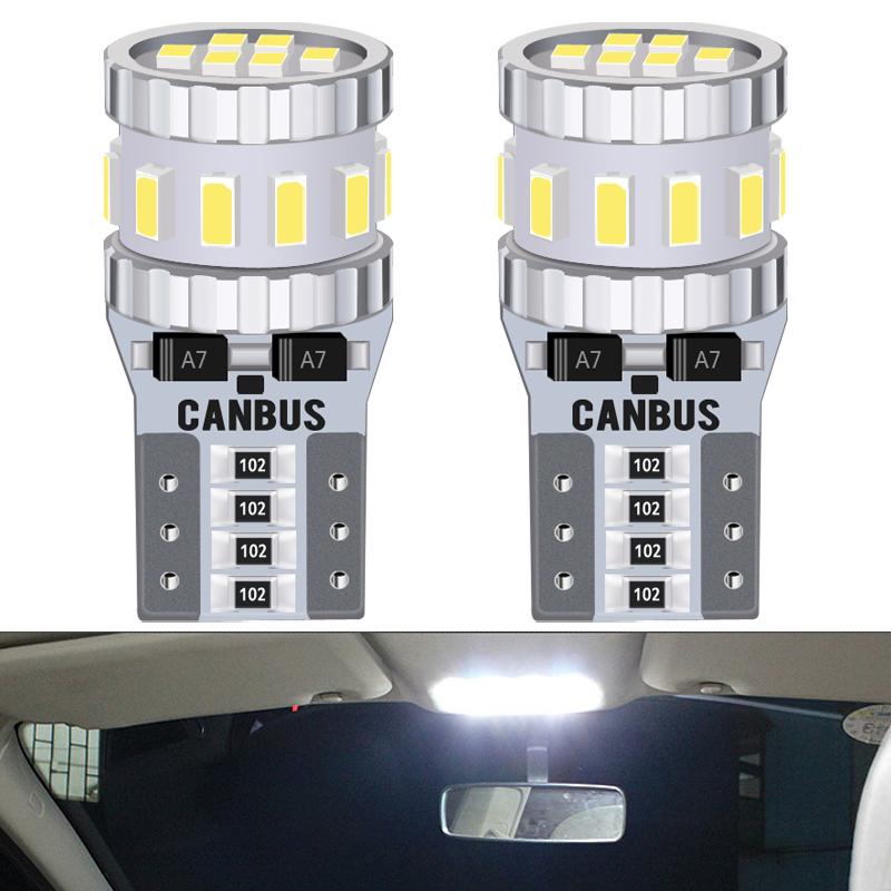 2x T10 W5W <font><b>LED</b></font> Canbus NO ERROR Bulb Car Interior Parking Light For <font><b>Audi</b></font> A3 <font><b>A4</b></font> B6 B8 A6 C6 80 <font><b>B5</b></font> B7 A5 Q5 Q7 TT 8P Auto Lamp image