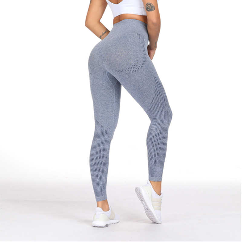 Nahtlose Hohe Taille Gym Leggings Push-Up Leggins Sport Frauen Kompression Strumpfhosen Fitness Läuft Yoga Hosen Energie Leggings